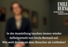 Kunsthalle Bremen – Bernards Selbstportraits verdeutlichen seine Stilwechsel