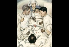 Lenbachhaus – Christian Schad, Operation, 1929
