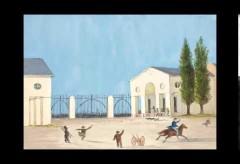 historisches museum frankfurt – red park: Über die Sperrbatzenkrawalle