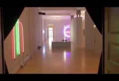 """Kunstmuseum St. Gallen – Aufbau der Ausstellung """"Es werde Licht…"""" (© Art-TV)"""
