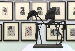 Museum Haus Konstruktiv – William Kentridge – The Nose