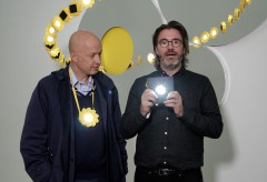 "Fondation Beyeler: Olafur Eliasson and Sam Keller About the ""Little Sun Phone Charge"" Project"