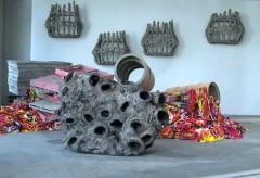 Kunstmuseum St.Gallen: Phyllida Barlow – mix (© Art-TV)