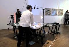 Albertina: Drawing Now – 2015 | 15 Minutes – Finissage | Nikolaus Gansterer