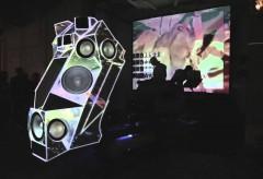 Hartware MedienKunstVerein: Soundpanzer-Performance PROPAGANDA von Nik Nowa und Moritz Stumm