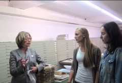 Landesmuseum Württemberg: Digitaler Christoph – Interview im Hauptstaatsarchiv