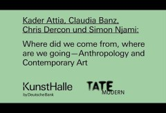 Deutsche Bank KunstHalle: Where did we come from, where are we going — Anthropology and Contemporary Art