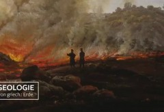 Städel Museum: Kunst|Stück – Johann Christian Clausen Dahl: Der Ausbruch des Vesuv im Dezember 1820