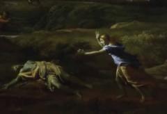 Städel Museum: Kunst|Stück – Nicolas Poussin: Gewitterlandschaft mit Pyramus und Thisbe