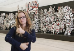 Fondation Beyeler: Jean Dubuffet – Metamorphosen der Landschaft. Natasha Ruf in Gebärdensprache