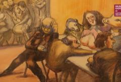 """Ausstellung """"Horcher in die Zeit – Ludwig Meidner im Exil"""" im MUSEUM GIERSCH"""