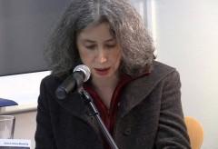 """Katarina Holländer liest in der Langen Nacht des Jüdischen Buches aus Andrzej Szczypiorskis """"Feuerspiele"""""""