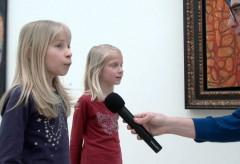 Mein Lieblingswerk in der Jean Dubuffet-Ausstellung (Lynne und Jade)