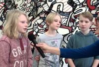 Mein Lieblingswerk in der Jean Dubuffet-Ausstellung (Romeo, Daniel, Philipp)