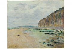 Claude Monet – Varengeville, marrée basse, 1882