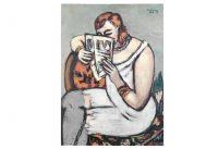 Die Frau im weißen Hemd von Max Beckmann