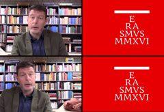 Interview with Dr. Adrie van der Laan Curator for the exhibition ERASMUS MMXVI