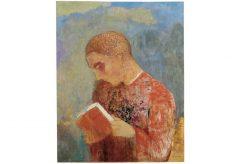 Odilon Redon – Alsace oder Mohne lisant, um 1914
