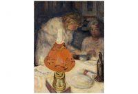 Pierre Bonnard – L`abat-jour orangé, 1908