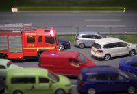 Stop Motion Film im Miniatur Wunderland – Die Rettungsgasse rettet Leben