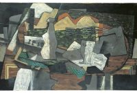 Geroges Braque – Nature morte à la guitare, 1919