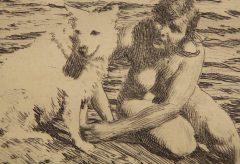 Andreas Zorn – Sappho: Kunstwerk des Monats September im Museum Kunstpalast