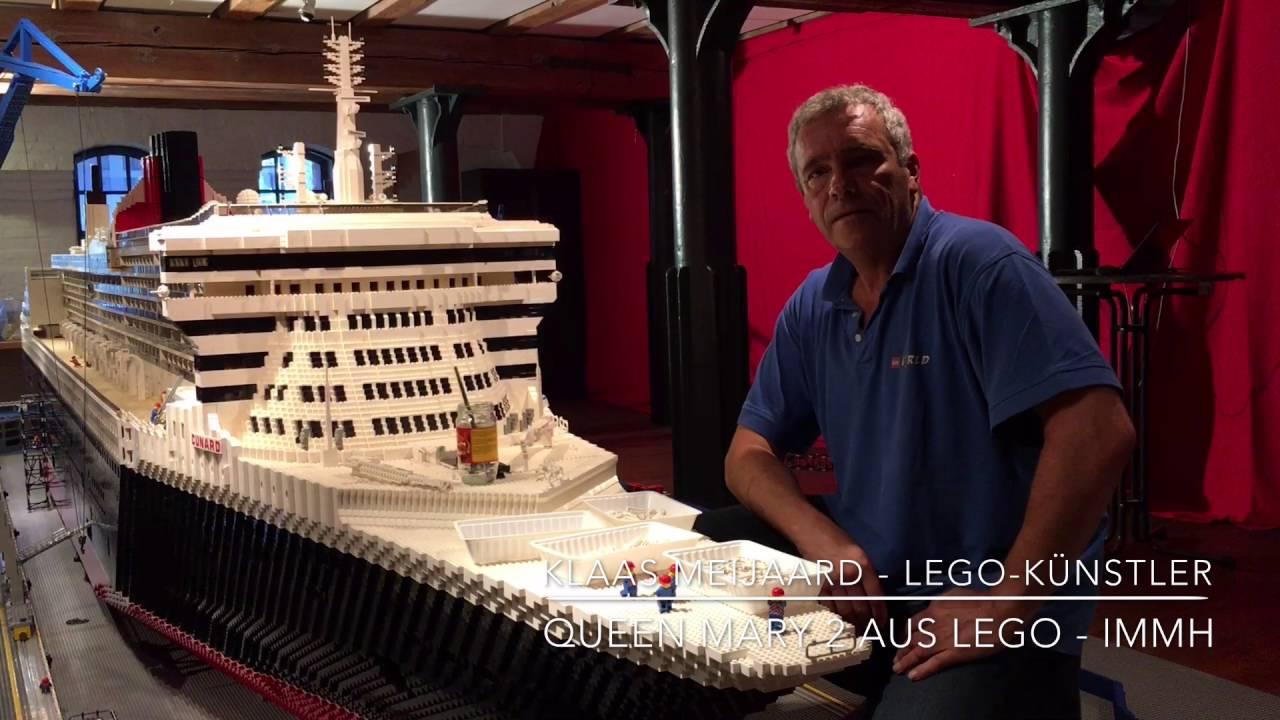 Queen mary 2 aus lego im internationalen maritimen museum for Garderobe queen mary 2