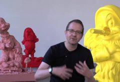Paul McCarthy in der Lokremise des Kunstmuseums St. Gallen