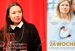24 WOCHEN (2016). Filmgespräch mit Anne Zohra Berrached – Deutsches Filmmuseum