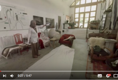 Elfie Semotan im Atelier Kippenberger im 360° Video