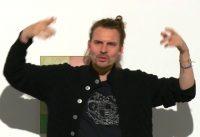 Performance mit Jurczok 1001 im Museum Haus Konstruktiv Zürich