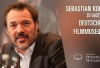 Sebastian Koch im Gespräch mit Kirsten Liese (Deutschlandfunk/WDR) – Deutsches Filmmuseum