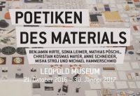 Poetiken des Materials im Leopold Museum