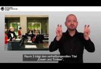 Videoguide durch die Dauerausstellung des Deutschen Hygiene-Museums in Deutscher Gebärdensprache