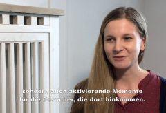 Interaktiver Vermittlungsraum zur Ausstellung »Winckelmann. Moderne Antike«