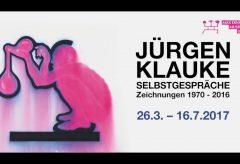 Jürgen Klauke – Selbstgespräche. Zeichnungen 1970-2016