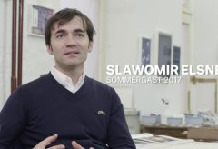 Atelierbesuch bei Slawomir Elsner, Sommergast 2017