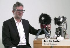 »Hello, Robot.« An interview with Jan De Coster, Robot Designer and Maker