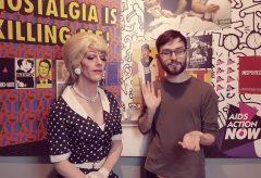 """Gaby Tupper im Gespräch zur Ausstellung """"Tapetenwechsel 2.0"""" im Schwulen Museum"""