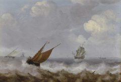 Die Geburt des Kunstmarktes – Rembrandt, Ruisdael, van Goyen und die Künstler des Goldenen Zeitalters