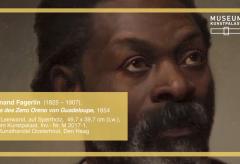 Ferdinand Fagerlin: Bildnis des Zeno Oreno von Guadeloupe – Kunstwerk des Monats August 2017 im Museum Kunstpalast