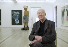 """""""Ich bin kein Künstler, ich bin Maler"""" – Georg Baselitz in der Fondation Beyeler"""