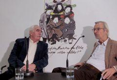Pit Knorr und Bernd Eilert über Robert Gernhardt – Gespräch im Caricatura Museum Frankfurt