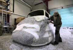"Kunstmuseum Wolfsburg – The Making of … ""Curry Bus"" von Erwin Wurm"