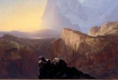 Kunstmuseum Bern – Alexandre Calame (1810-1854), Der grosse Eiger, 1844