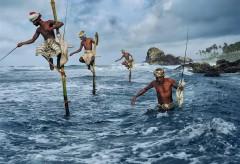 Museum für Gestaltung – In Conversation with Steve McCurry – Stilt Fishermen