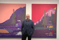 Bank Austria Kunstforum – Hubert Schmalix: Hut with Smoke I & II, 2015 BILDBESPRECHUNG