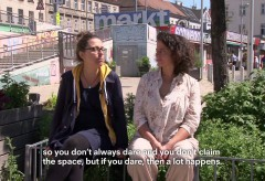 MAK – 2051: Smart Life in the City – Demonstrator #10 – Der Freiraum The Open Space