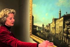 """Museum Kunstpalast – Bernardo Bellotto, gen. Canaletto, """"Via di Ripetta in Rom"""" (1742–1744)"""