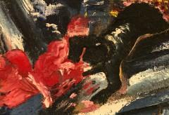 "Neue Nationalgalerie – Long Version: Conservation ""Barrikadenkampf / Apokalyptische Landschaft"""